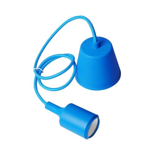 Lampa sufitowa Moderna E27 60W niebieski
