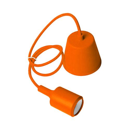 Lampa sufitowa Moderna E27 60W pomarańczowy