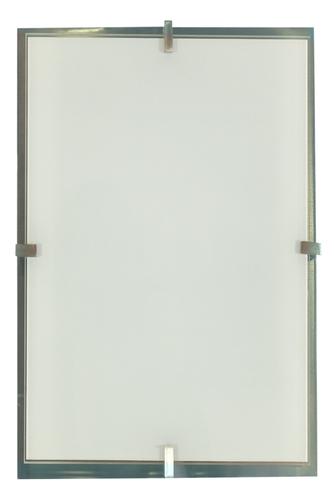 Frena Lampa Sufitowa Plafon 40X20 2X60W E27 Satyna