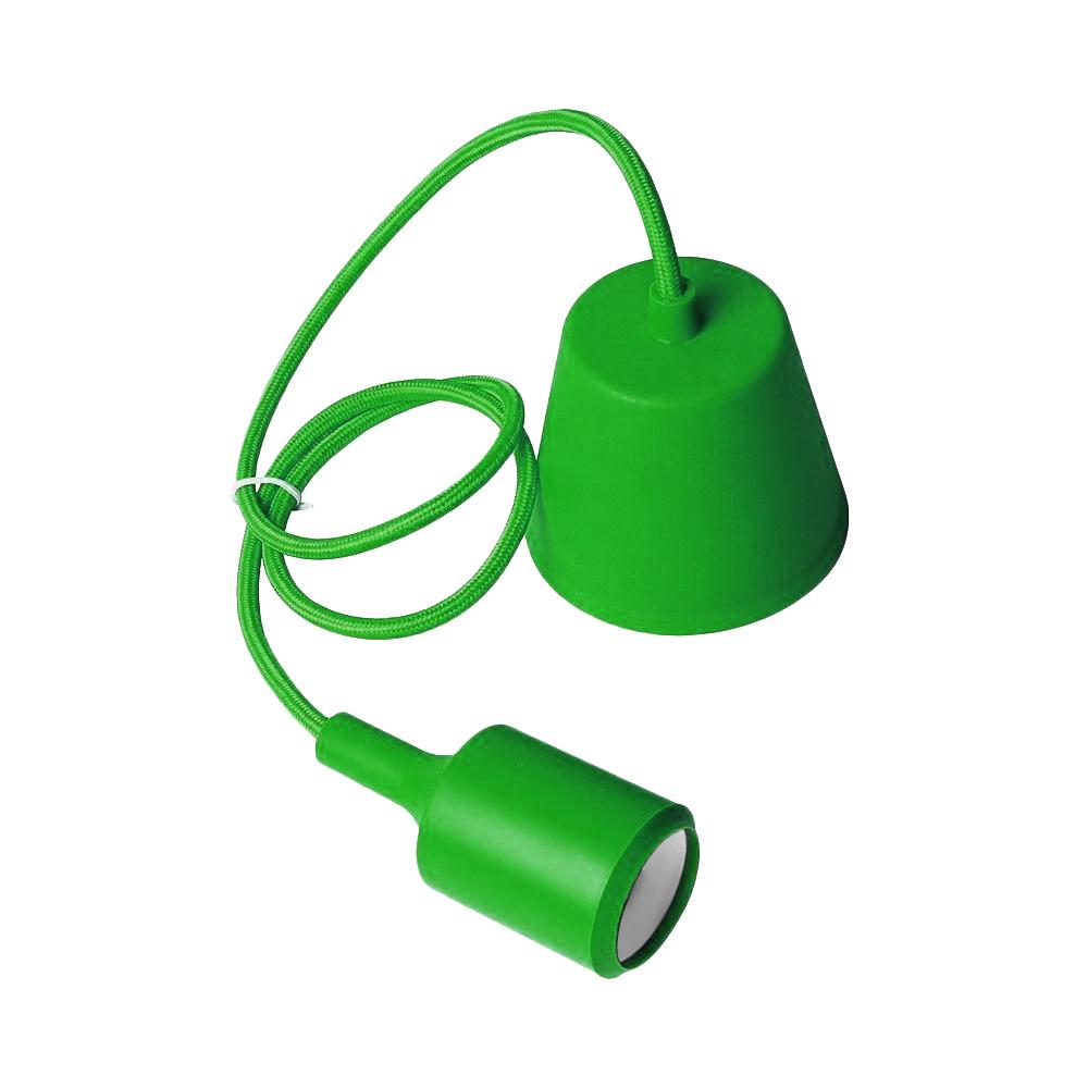 Lampa sufitowa Moderna E27 60W zielony