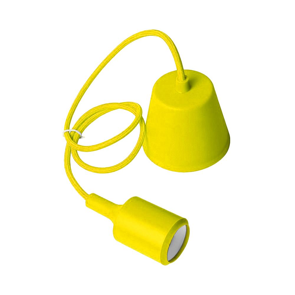 Lampa sufitowa Moderna E27 60W żółty