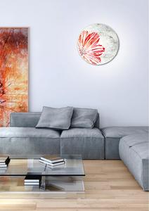 Spring Lampa Sufitowa Plafon 30 1X60W E27 Czerwony small 1