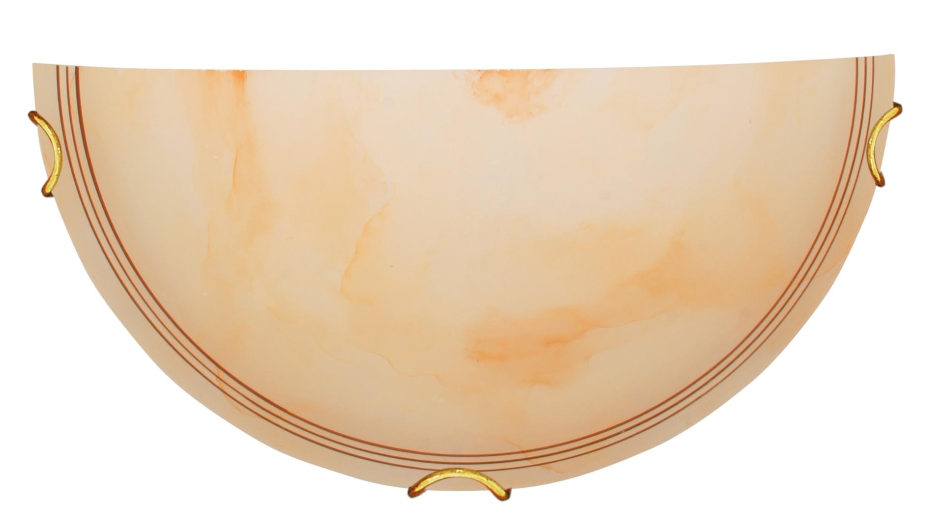 Dalos Lampa Sufitowa Plafon 1/2 1X60W E27 Beżowy