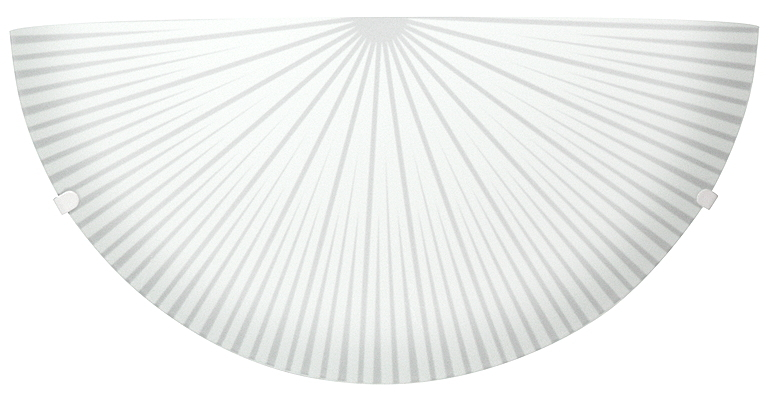 Radial Lampa Sufitowa Plafon1/2 1X60W E27