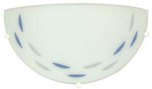 Łezka  Lampa Sufitowa Plafon 1/2 Niebieski 60W Eco small 0