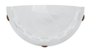 Milea Lampa Sufitowa Plafon 1/2 1X60W E27 small 0