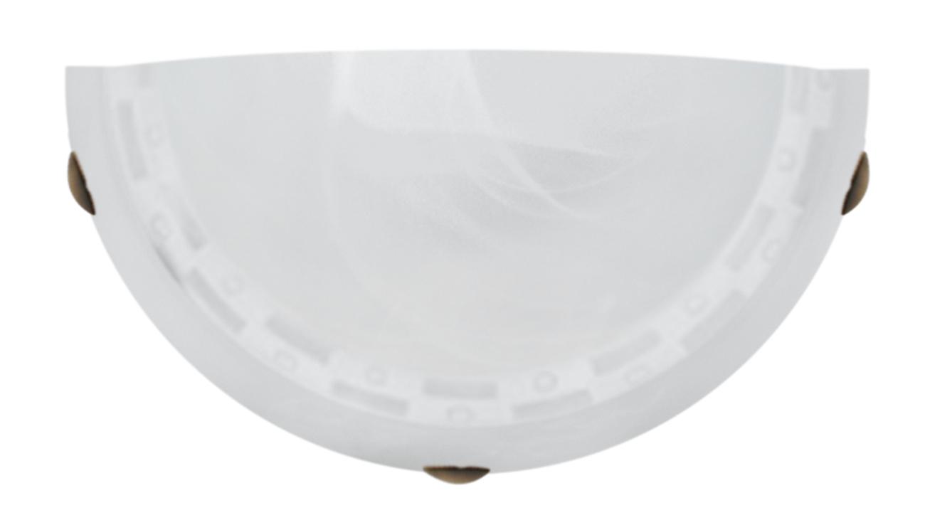 Milea Lampa Sufitowa Plafon 1/2 1X60W E27