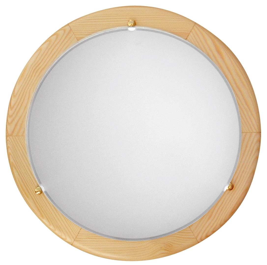 Bianca Lampa Sufitowa Plafon 30 Drewno Standard 10W Led 6500 K Sosna