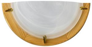 Duna Lampa Sufitowa Plafon1/2  Sosna Alabaster 1X60W small 0