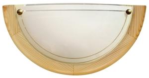 1030 Lampa Sufitowa Plafon1/2 Drewno Standard 1X60W E27 Sosna small 0