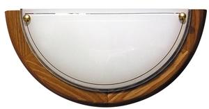 1030 Lampa Sufitowa Plafon1/2 Drewno Standard 1X60W E27 Dąb small 0