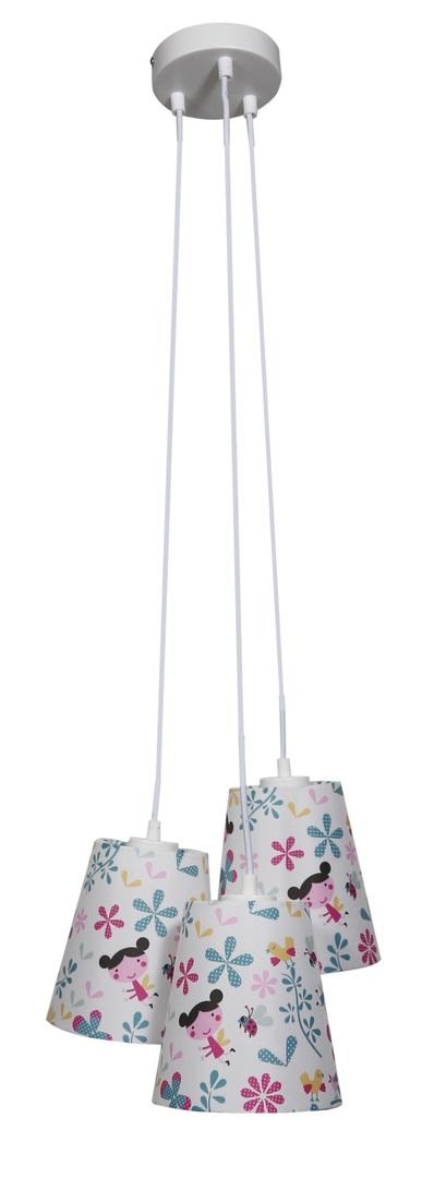 Girl Lampa Wisząca 3X40W E27