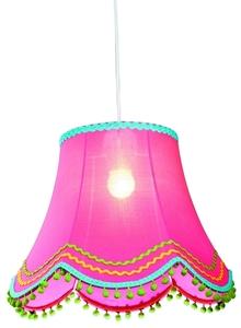 Arlekin Lampa Wisząca 35 1X60W E27 Różowy small 0