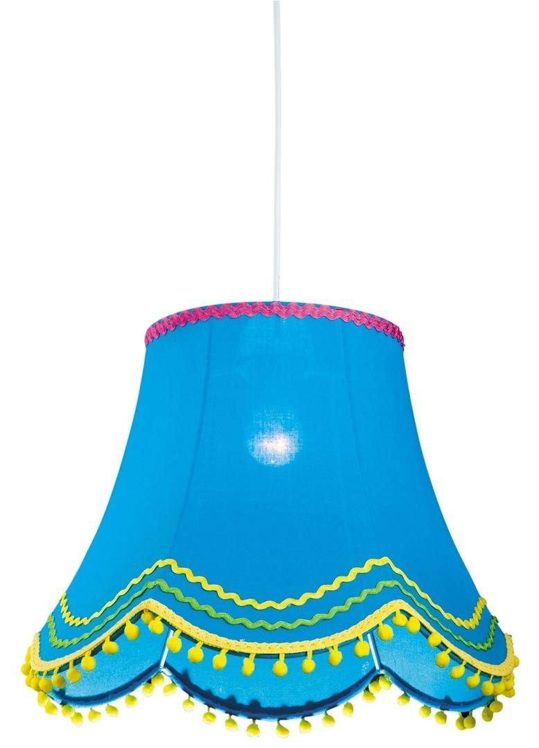 Arlekin Lampa Wisząca 35 1X60W E27 Niebieski