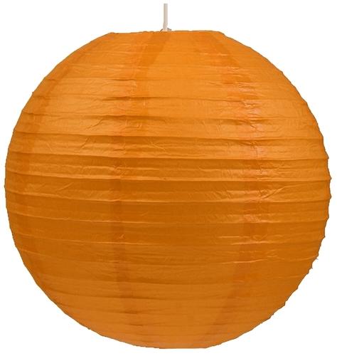 Abażur Papierowy-Kokon Kula Papierowa 60 Pomarańcz