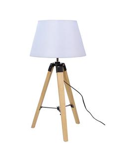 Lugano Lampa Gabinetowa 1X60W E27 Beżowy + Abażur O Tym Samym Indeksie small 0