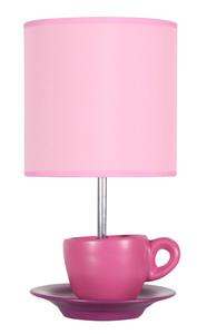 Cynka Lampa Gabinetowa 1X60W E27 Różowy small 0