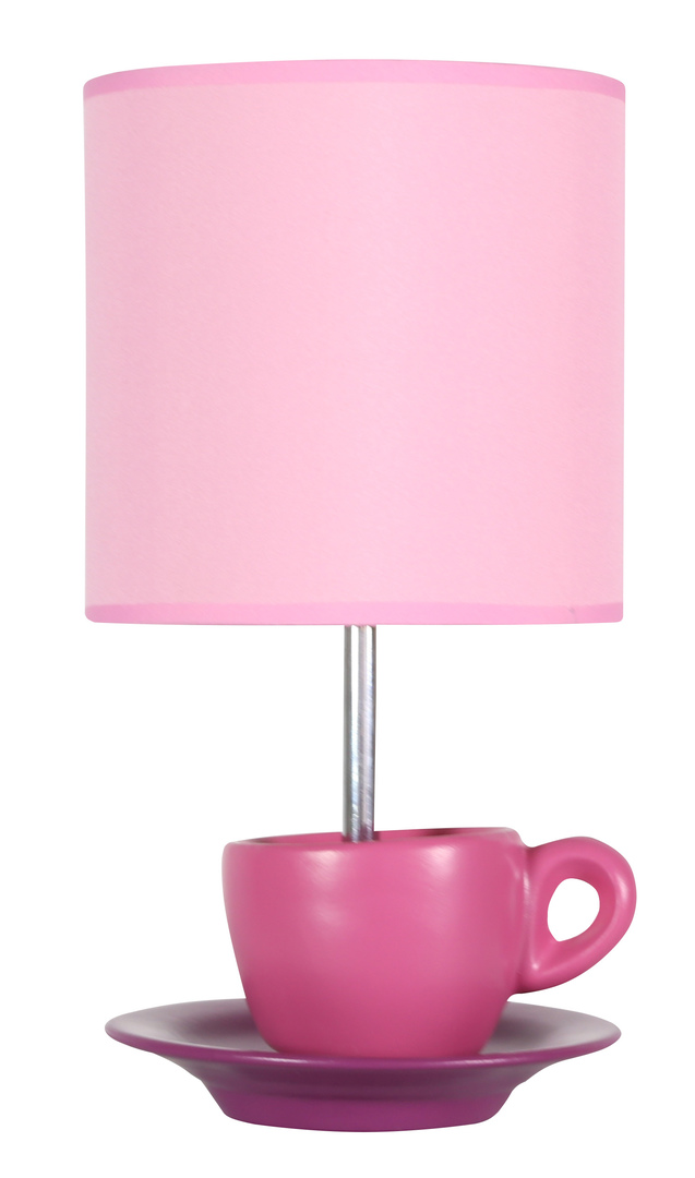 Cynka Lampa Gabinetowa 1X60W E27 Różowy