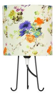 Micra Lampa Gabinetowa 1X40W E14 Kwiaty Niebieskie small 0
