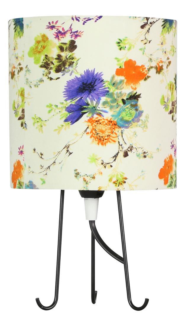 Micra Lampa Gabinetowa 1X40W E14 Kwiaty Niebieskie