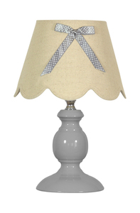 Whilma Lampa 1X40W E14 Szary small 0