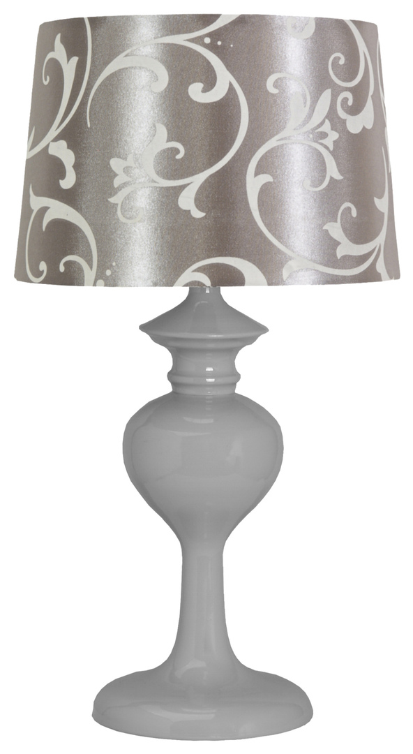 Berkane Lampa 1X40W E14 Szary/Szary