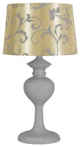 Berkane Lampa 1X40W E14 Szary/Beżowy small 0