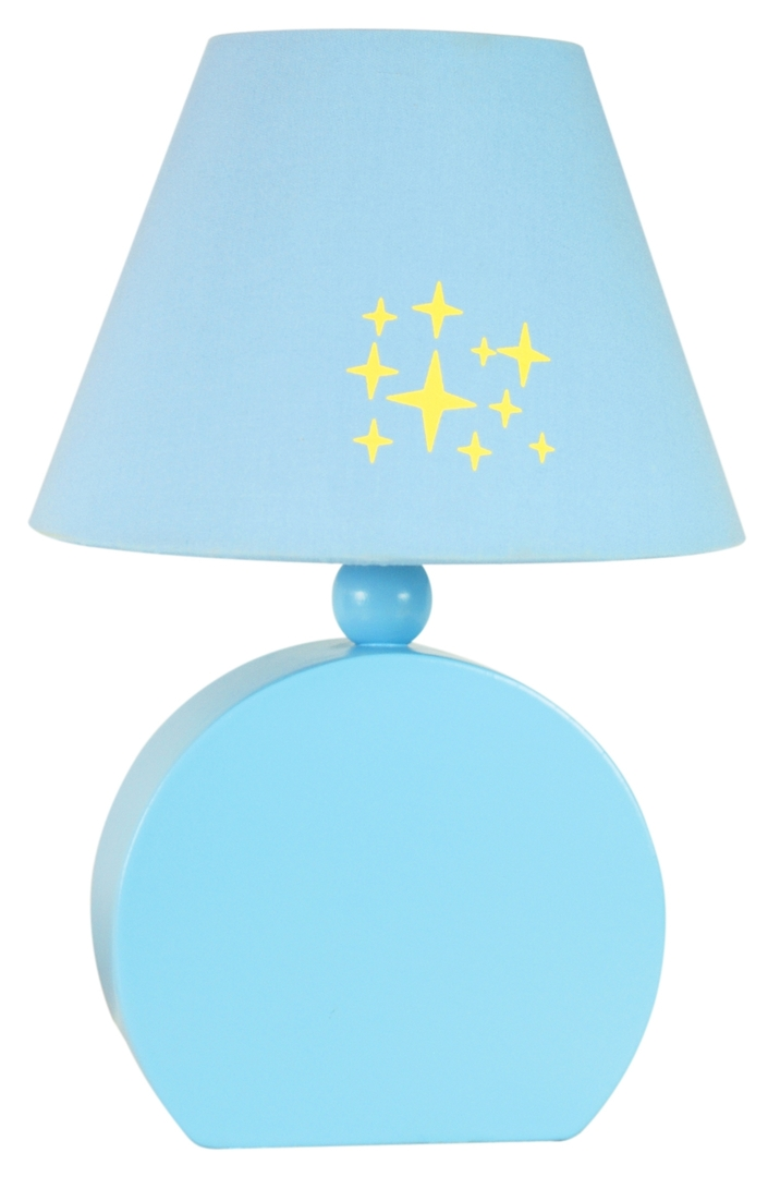 Ofelia Lampa Gab. Mdf 1X40W E14 Niebieska