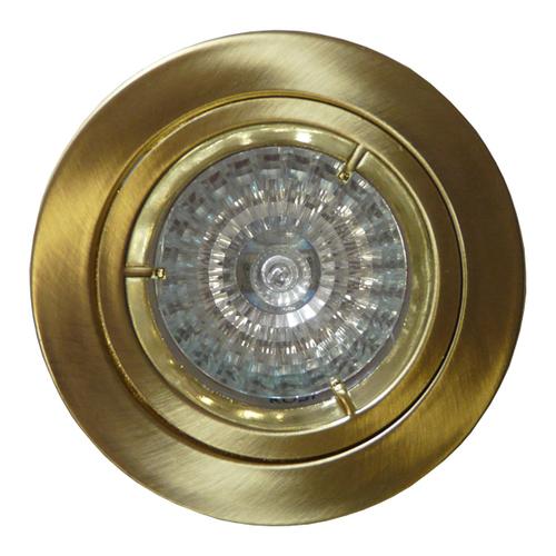 Spot stały MR16 odlew polerowane złoto