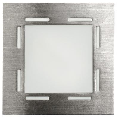Lampa Techno Plafon (14X14) G9 1X40W Nikiel Mat
