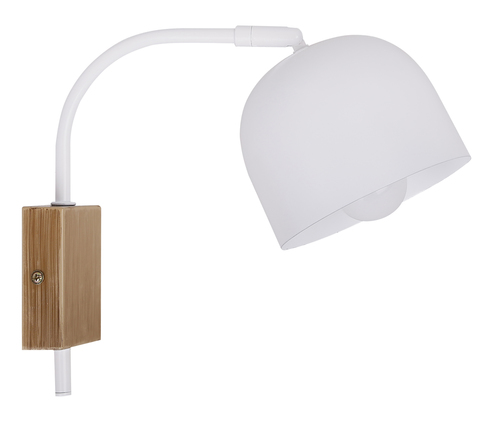 Rupi Lampa Kinkiet 1X40W E27 Biały