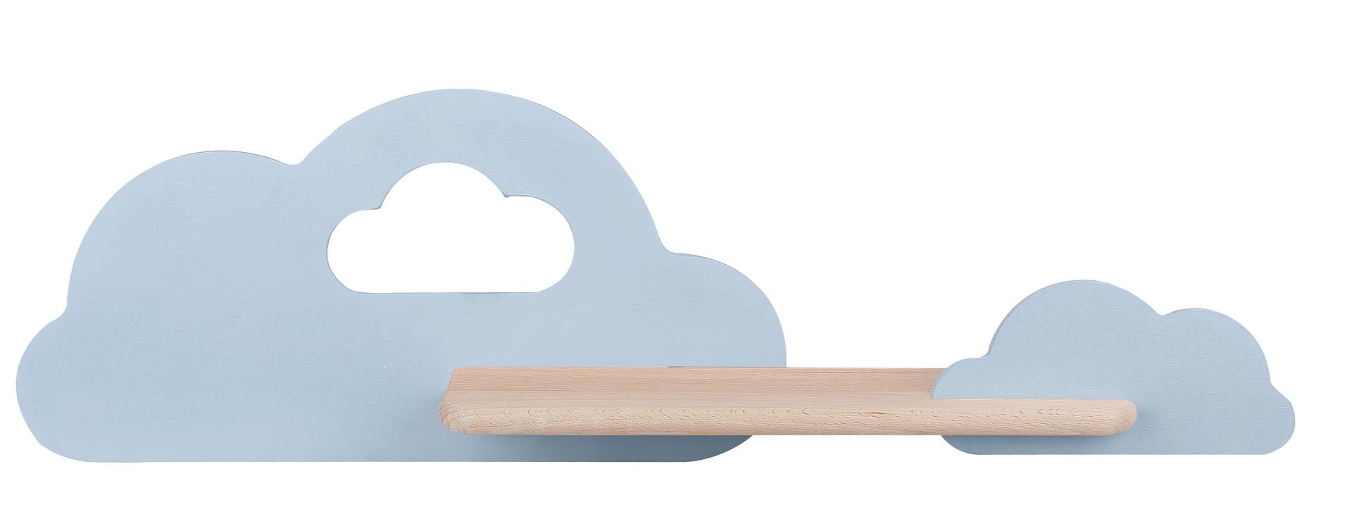 Lampa Cloud Kinkiet Ścienny 5W Led Iq Kids Niebieski
