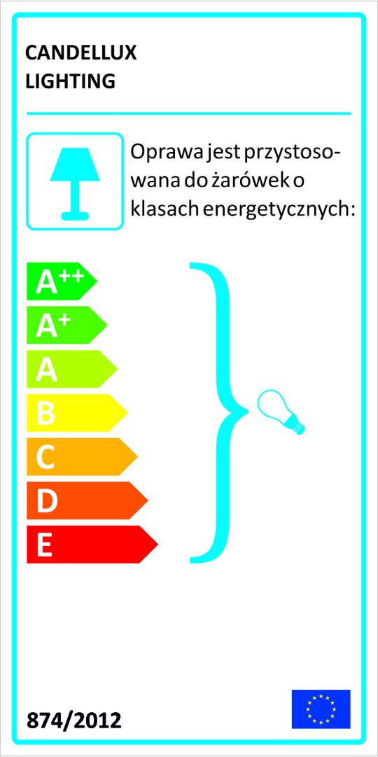 Oprawa Stropowa Dekoracyjna Kwadratowa Sk-82 Ch/Tr Mr16 1X50W Chrom Transparent