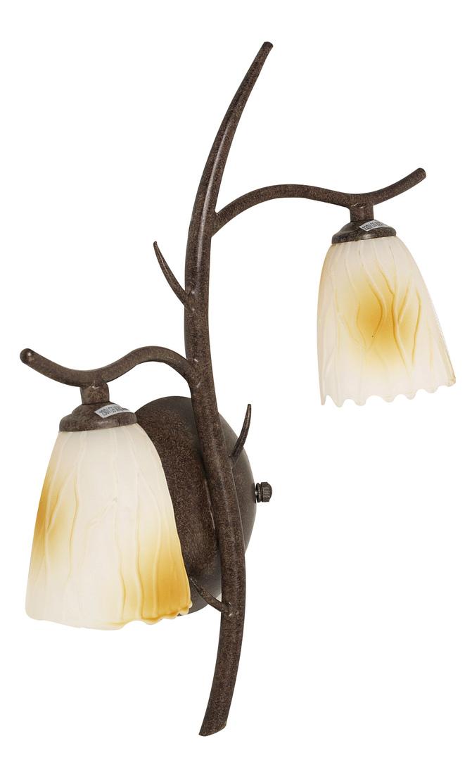 Lampa L&H Mikado Kinkiet 2X40W G9 Patyna