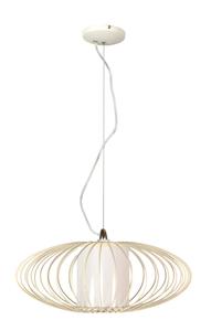 Lampa Himera Zwis 1X60W E27 Biała 40Cm small 0