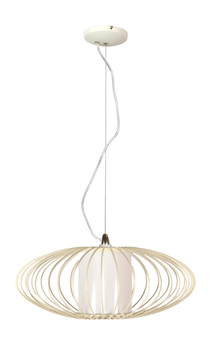 Lampa Himera Zwis 1X60W E27 Biała 40Cm