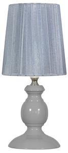 Lampka Alette 1X40W E14 Szary small 0