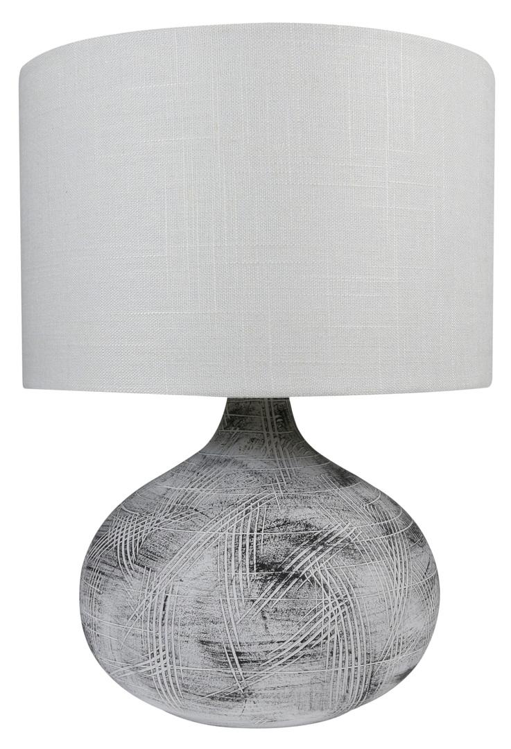 Lampka Omar Gabinetowa Ceramiczna 1X40W E27 Beżowy