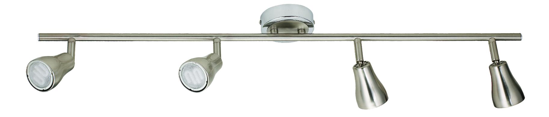 Lampa Jawa Listwa 4X7W Gu10 Energo  Nikel Matt