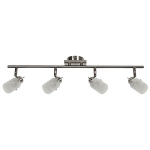 Lampa Frozen Listwa 4X40W G9 Nikiel Mat small 0