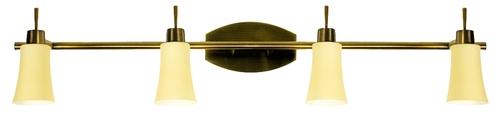 Lampa Kroton Listwa 4X40W G9 Patyna