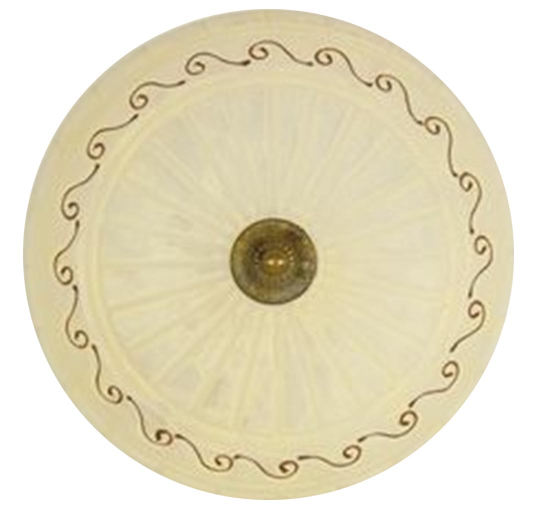 Lampa Plafon Brus 40  2X60W E27