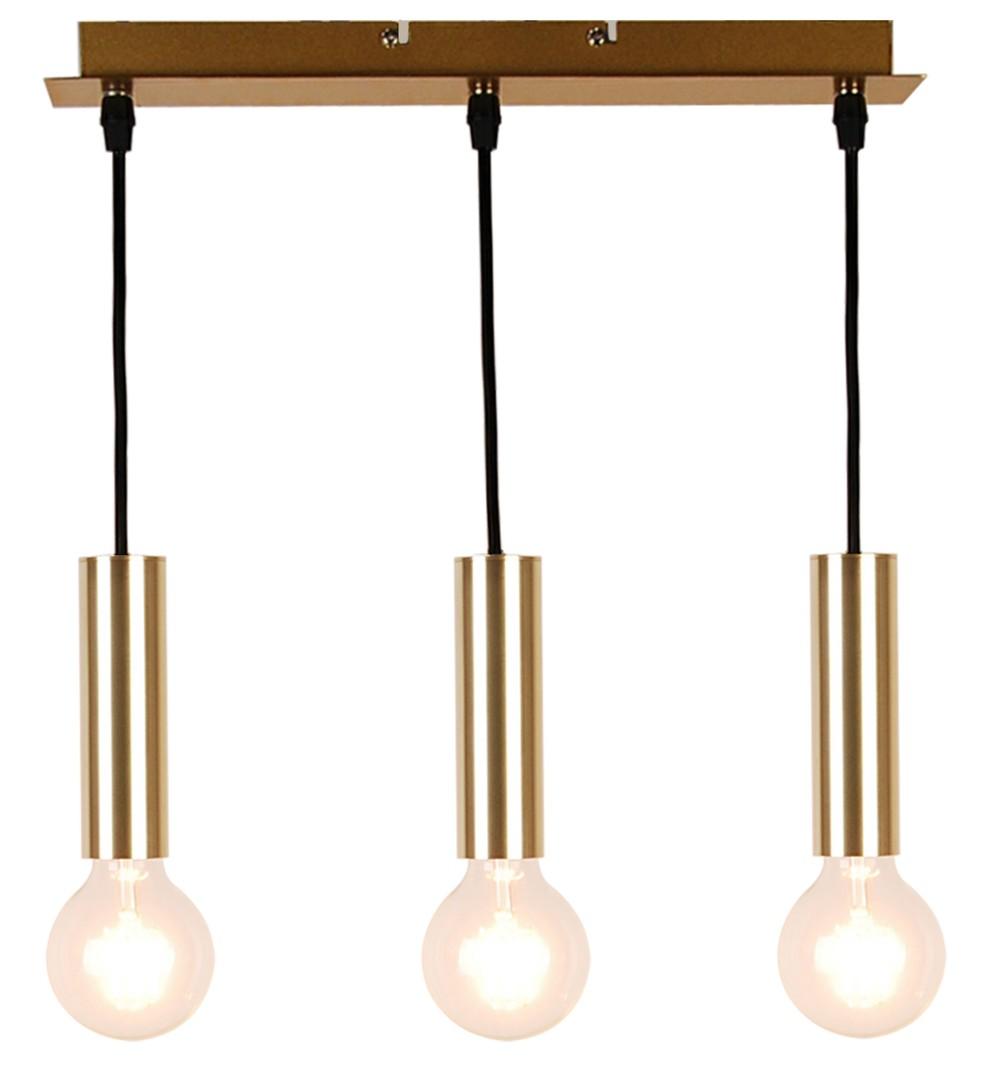 Lampa Wisząca Dallas 142 Mm 3 Złoty