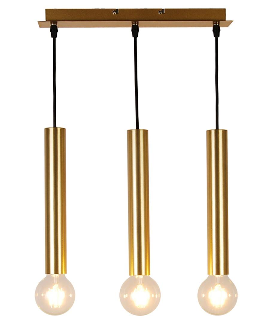 Lampa Wisząca Dallas 284 Mm 3 Złoty