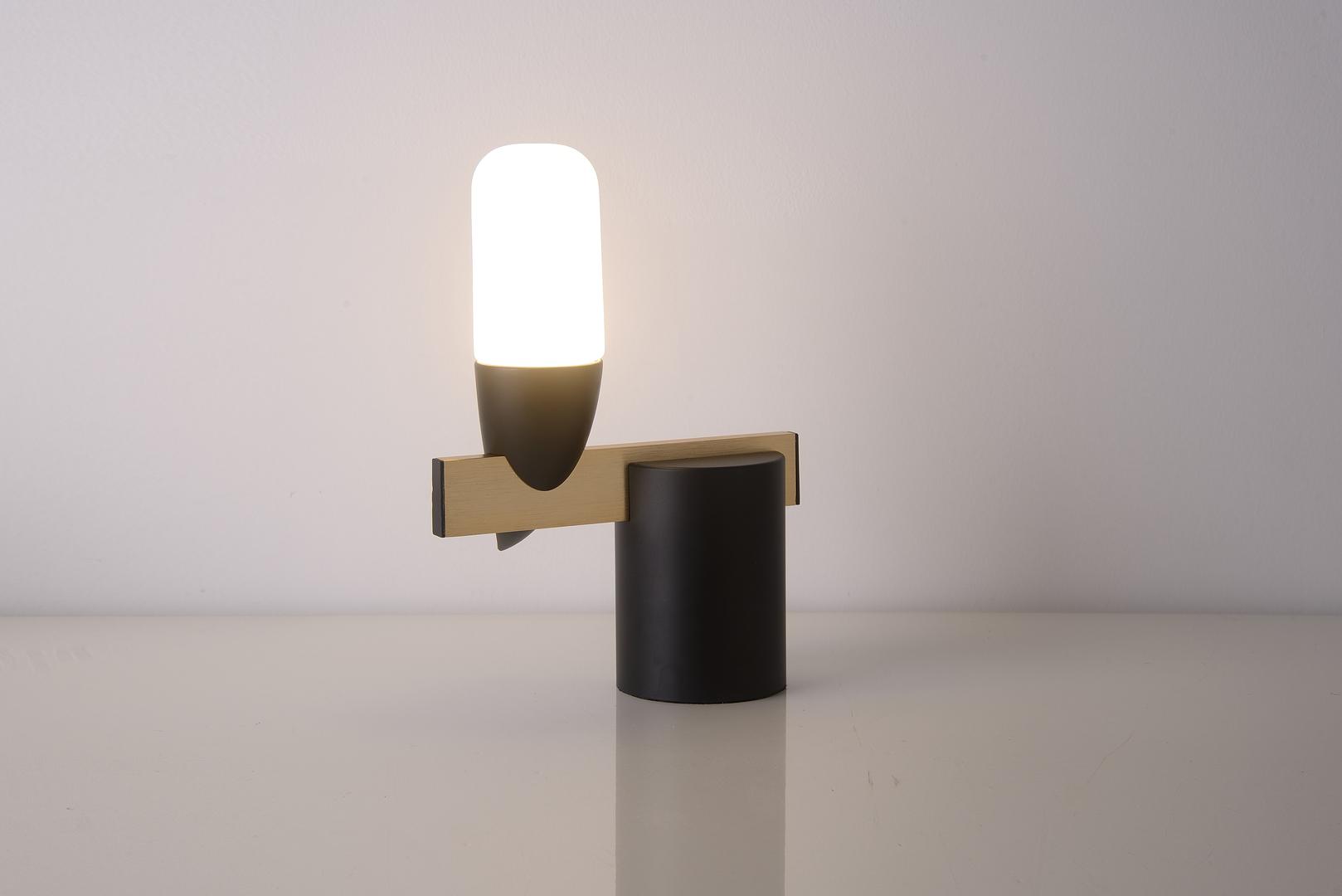 Lampa Stołowa Sakai 1 Czarny