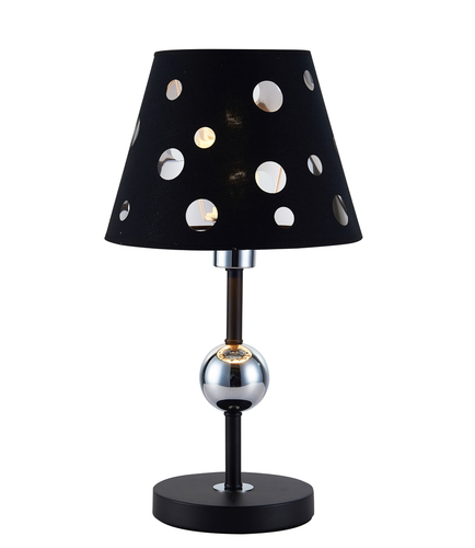 Lampa Stołowa Batley 1 Czarny