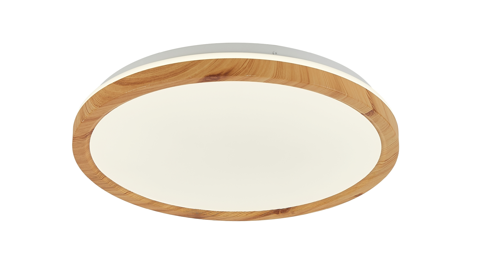Plafon Kato 400 Mm 1 Biały Jasne Drewno