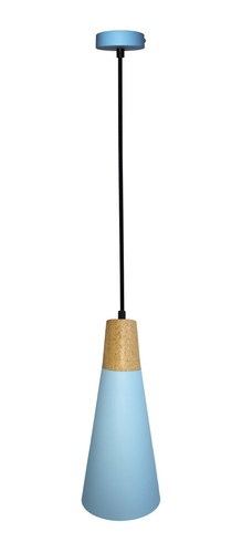 Lampa Wisząca Faro 1 Niebieski