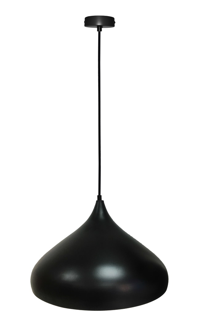 Lampa Wisząca Viborg 420Mm 1 Czarny