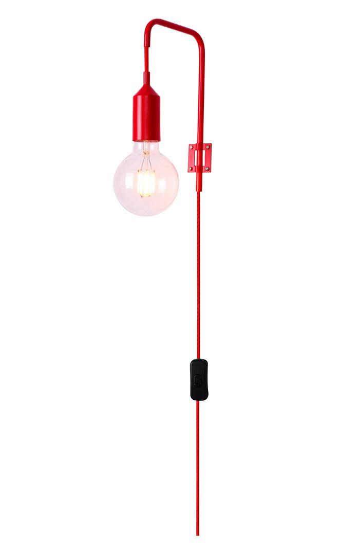 Kinkiet Laren 1 Czerwony